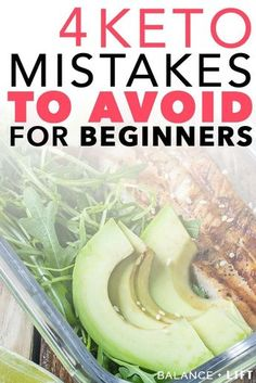 New to the keto diet and aren't sure what to expect? Watch out for these common keto mistakes and learn how to avoid them so you excel on the keto diet. Low Carb Diets, Keto Vs Low Carb, Keto Food List, Food Lists, Low Carb Fruit List, Comida Keto, Starting Keto Diet, Vegan Keto, Ketogenic Diet For Beginners