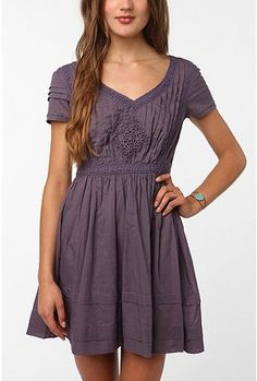 UrbanOutfitters Thistlepearl Victorian Lace Cotton Dress