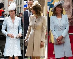 Image result for carole middleton wedding outfits