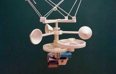 Printable GoPro wind powered rotator for Kite aerial photography by UltiArjan Gopro Photography, Aerial Photography, Kite Surf, 3d Prints, Wind Power, Alternative Energy, Gopro Accessories, Kitesurfing, Printable