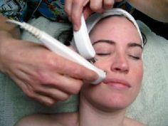 Equipment microcurrent facial