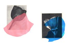 Rosemarie Auberson Paper Collage...more on www.WeAreTheSomethings.com