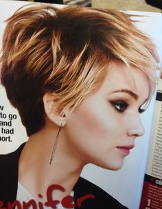 Haircuts Trends 2017/ 2018   Jennifer Laurence hairthis is the picture I should have taken to the salon las
