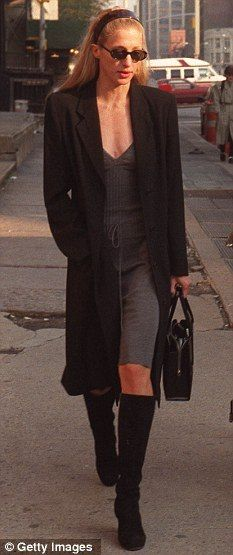 October 23, 1996 – Walking on Varick St.   Remembering Carolyn