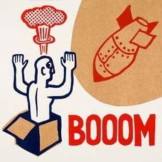 booom por ARTeFAKTshop en Etsy
