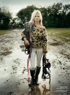 Kate Moss for V Magazine