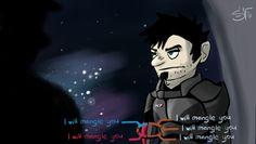 Mass Effect Fan Art deviantART | Dan Vs. Mass Effect by ~StNoctifer on deviantART