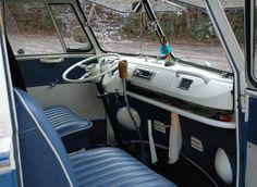vw t2 bus interior