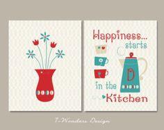 Popular items for kitchen art print on Etsy