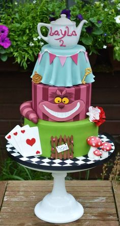 Alice in Wonderland...it has laylas name lol