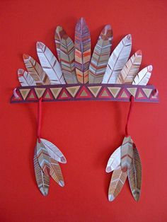 TUI discover the world Thanksgiving Crafts, Fall Crafts, Holiday Crafts, Art For Kids, Crafts For Kids, Arts And Crafts, Paper Crafts, American Indian Crafts, Native American Art