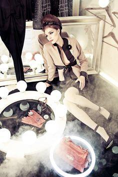 """FW Magazine """"Retro Obsession"""" by Roman Mitchenko, via Behance"""