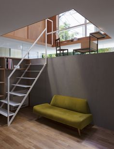 """House in Kawanishi by Tato Architects based on Australia's """"Queenslander"""" dwellings Interior Exterior, Interior Architecture, Hip Roof, Interior Decorating, Interior Design, Japanese House, Other Rooms, House In The Woods, Small Spaces"""