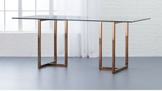 Glass Rectangle Dining Room Table Best Of Silverado Rectangular Dining Table Small Living Room Design, Dining Room Design, Interior Design Living Room, Dining Furniture, New Furniture, Glass Dining Room Table, Dining Tables, Dining Rooms, Fine Dining