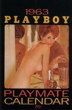Karen Thompson, PMOM - August 1961, pictured in 1963 Calendarand NSS Calendar Playmates, 1992