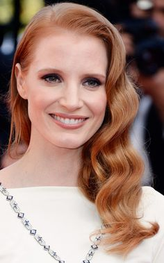 Jessica Chastain's Lovely Waves