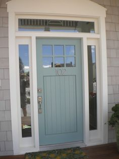 Would love to paint my front door this color
