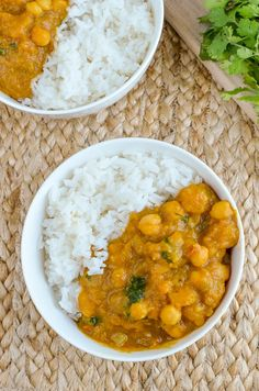 Slimming Eats Butternut Squash Chickpea Curry - dairy free, gluten free, vegan, Slimming World and Weight Watchers friendly Curry Recipes, Veggie Recipes, Vegetarian Recipes, Healthy Recipes, Ww Recipes, Veggie Food, Free Recipes, Recipies, Slimming World Curry