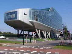 ING Bank building in Amsterdam, which was designed by Amsterdam-based Meyer and Van Schooten Architects.
