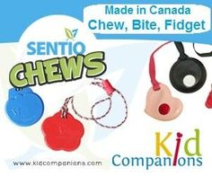 Child is angry? Anxious? Fidgety? Kids feel calmer and are less anxious during transitions if they have their own familiar item to fidget or chew like KidCompanions Chewelry or SentioCHEWS. www.kidcompanions.com