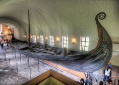 Day 10 - The Viking Ship Museum houses three ships found in large burial mounds in the Oslo fjord region. The best-preserved Viking ships in existence, each contained a wealth of material, both decorative and utilitarian, dating back up to 1200 years.