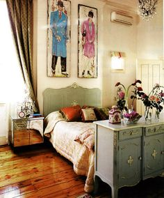 Alannah Hill's home. Image copyright Alannah Hill & The Age (Melbourne) Magazine