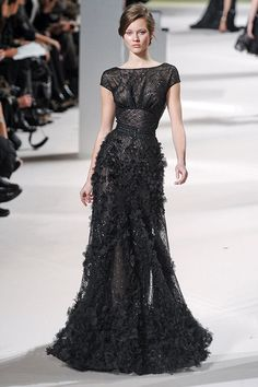 I love a Black Bridal Gown!