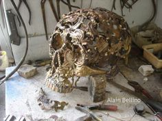 Bronze age/ L'âge de bronze by Bellino Alain, via Behance
