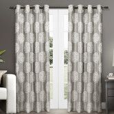 Found it at AllModern - Akola Curtain Panel $34.99 look really nice- dove grey