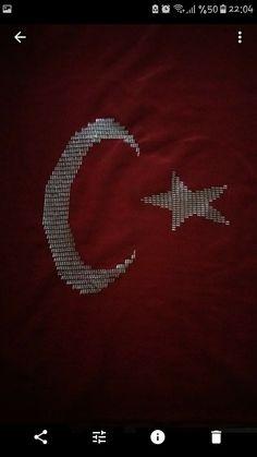 Türk bayrağı Celestial