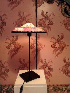 Lampshade/lampenkapje Anna sur Ombre uit de door MargrietThissen