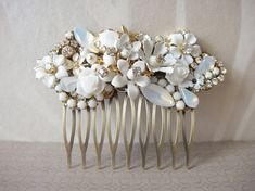 Vintage hair comb beauty