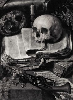 The Knight's Dream (detail) Antonio de Pereda Danse Macabre, Art Sombre, Vanitas Paintings, Art Paintings, Memento Mori Art, Vanitas Vanitatum, Dark Artwork, Skull Art, Art And Architecture