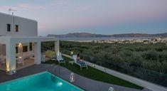 Holiday villa rental in Chania. Luxury five bedroom villa in NW Crete with sea view. 5 bedrooms' villa, with private pool, in the region of Ki. Falassarna Beach, Crete Holiday, Amazing Sunsets, Private Pool, Greece, Sea, Island, Luxury, Villas
