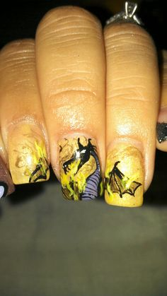 My awesome nails by Happily Evy After!