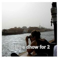 Rent a dhow for 2~
