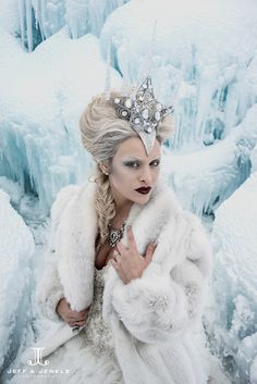 *+*Mystickal Faerie Folke*+*... By Artist Jeff and Jewels... Snow Queen...