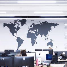 Extra large world map vinyl wall sticker vinyl wall stickers wall extra large world map vinyl wall sticker publicscrutiny Gallery