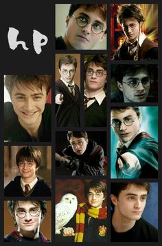 Harry potter pic collage