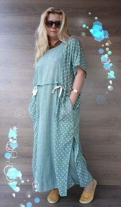Simple Dress Casual, Simple Dresses, Nice Dresses, 60 Fashion, Denim Fashion, Fashion Dresses, Boho Style Dresses, Trendy Dresses, Classy Outfits
