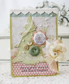 Lilybean's Paperie Christmas card