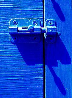 Color Azul Cobalto - Cobalt Blue!!! Lock  By Darwin Bell