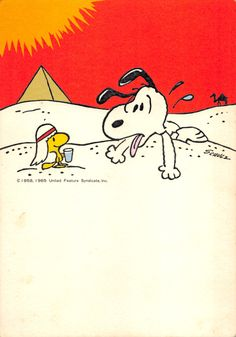 The big photo in serial Snoopy like Egyptian Snoopy Cafe, Camp Snoopy, Snoopy And Woodstock, Meu Amigo Charlie Brown, Charlie Brown And Snoopy, Snoopy Images, Snoopy Pictures, Peanuts Cartoon, Peanuts Snoopy