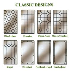 Elizabethan leaded glass for our casement windows, yes please! Leaded Glass Windows, Stained Glass Door, Transom Windows, Stained Glass Designs, Stained Glass Panels, Stained Glass Patterns, Antique Stained Glass Windows, Antique Glass, Antique Art