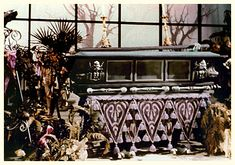 Disneyland Haunted Mansion Casket in the Old Conservatory