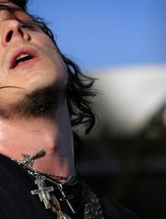 Jack White. There's something very sexy about this man's neck... just sayin'