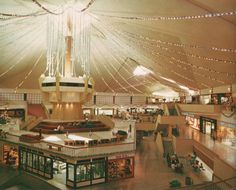 Town East Mall. 1970's. Mesquite, TX