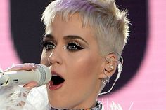 Katy Perry's short hair is looking SHARP