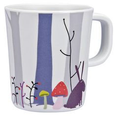 Petit Jour Forest Mug   Distributed by Kaleidoscope