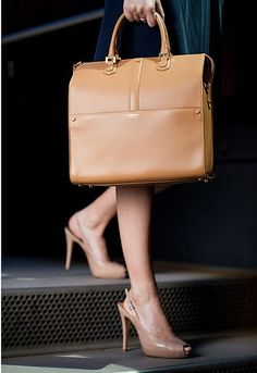Armani ~ Now that is one sophisticated bag...